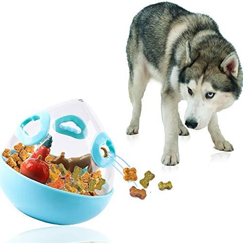 Nicedeal Interaktives Hundespielzeug IQ Training Nahrung Dosierer Becher Spielzeug für Hunde Katze I1°4°Mm Blau Pet Supplies Pet Tool Zubehör Pet Home Pet Feder