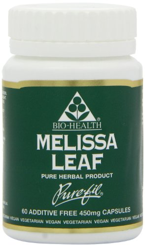 Bio-Health Melissa Leaf 60 Capsules (Case of 6)