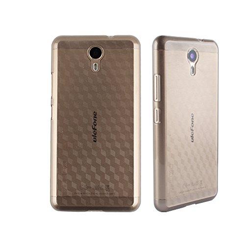 Frlife Ulefone Power 2 Hülle Case Telefon Kasten Schutztelefonhülle aus Hartplastik Durch