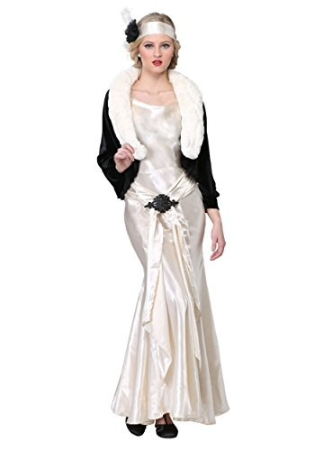 1920s Socialite Plus Size Womens Fancy dress costume 1X