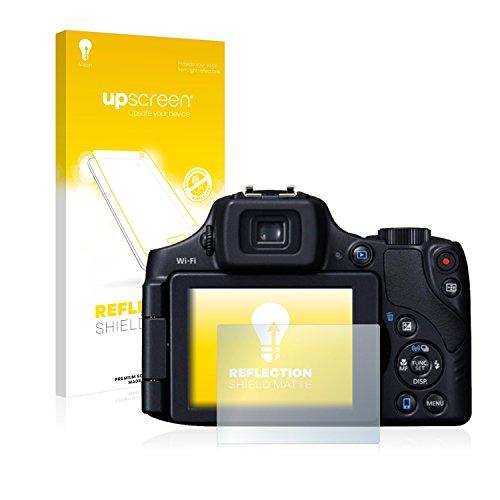 upscreen Matt Schutzfolie für Canon PowerShot SX60 HS – Entspiegelt, Anti-Reflex, Anti-Fingerprint
