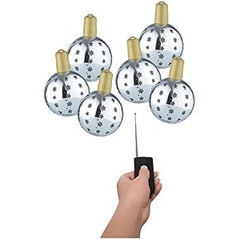 lunartec christbaumkugeln beleuchtete weihnachtsbaum kugeln aus glas mit fernbed 6. Black Bedroom Furniture Sets. Home Design Ideas