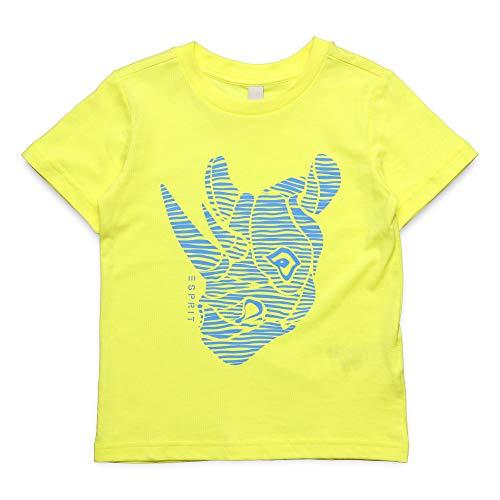 ESPRIT KIDS Jungen T-Shirt Ss, Gelb (Lemon Drop 710), Herstellergröße: 92+ -