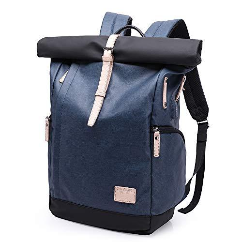 Wasserdicht Laptop Rucksack 15,7 zoll für Männer und Frauen Business Laptop-Taschen Notebook-Taschen Freizeit Rucksack Schulrucksack College-Rucksack, große Kapazität 30L