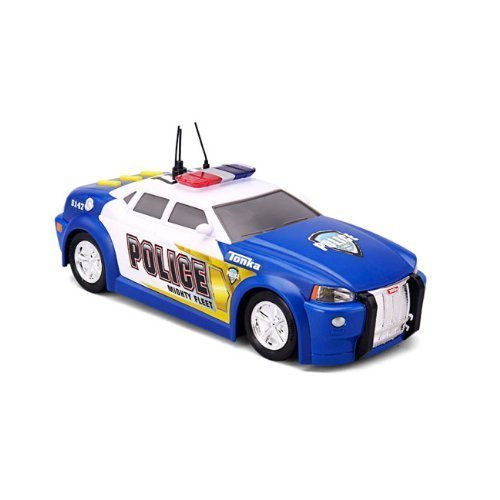 Tonka Lights and Sound Mighty Fleet Police Car (colors may vary) by Funrise