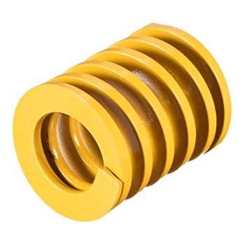 sourcingmap/® Light Load Spiral Stamping Compression Die Spring 22mm x 40mm Blue