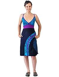 Slip robe de femmes Avec colorés Mandala Broderie