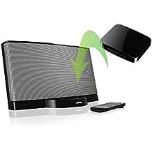 [REYTID] iDock Bluetooth 4.0 Adaptador inalámbrico Receptor con aptX de conexión para iPod - Oye música de forma inalámbrica desde su teléfono / tablet / iPod / Altavoces - Bose, Beats, B & W, JBL, Sonos
