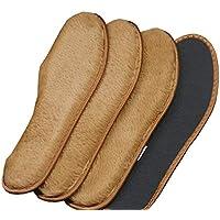4 Paar Premium warme dicke Plüsch-Einlegesohlen Ersatz-Einlegesohlen für Schuhe, D1 preisvergleich bei billige-tabletten.eu