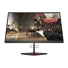 HP OMEN X 25f 240 Hz Full HD Gaming Monitor (1920 x 1080) 1 ms, AMD Free-Sync, G-Sync Compatible (1 DP, 2 HDMI, 2 USB), Black