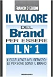 Il valore del brand per essere il n° 1. L