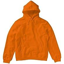 SG - Sudadera lisa con capucha para mujer