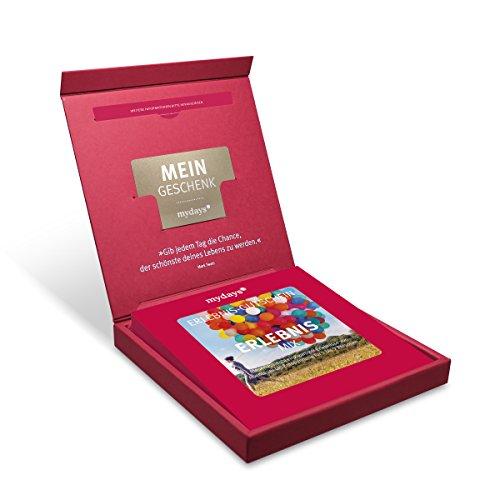 Erlebnis-Gutschein | mydays | ERLEBNIS-MIX | 120 Erlebnisse an über 390 Standorte | Geschenkidee für Frauen und Männer | Inklusive Geschenkbox
