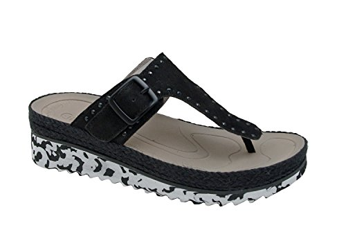 Gabor Donne Mules Flip Flops 43.721.10 nero schwarz
