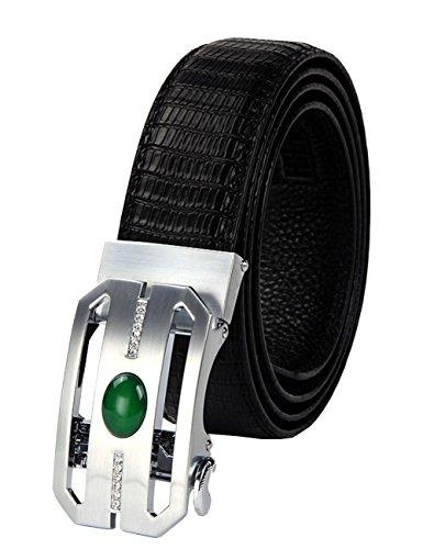 menschwear-mens-full-gebuine-leather-belt-adjustable-automatic-buckle-35mm-134-white