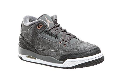 Air Jordan 3 Retro BG Junior Turnschuhe Sneaker, Größenauswahl:40