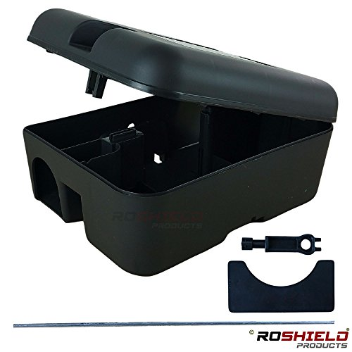 Rat & Mouse Poison Kit - 3 Box &...