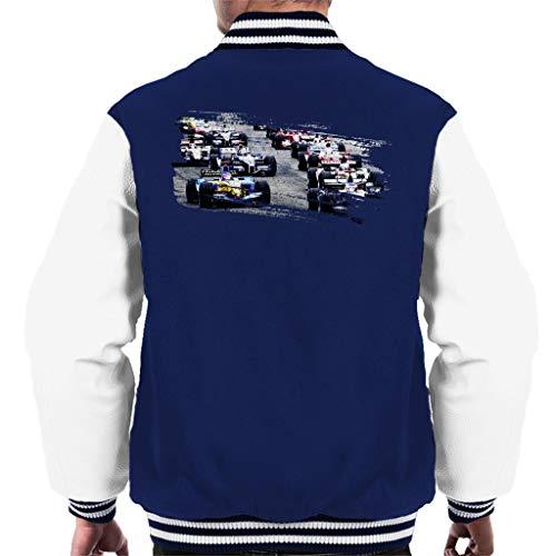 Motorsport Images San Marino GP 2005 Starting Shot Men's Varsity Jacket -