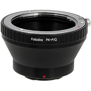 Fotodiox 11LA-PK-PK-Q - Adattatore di montaggio obiettivo per Pentax K/PK su fotocamera Pentax Serie Q