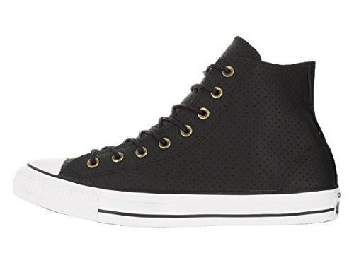 Converse All Star Hi Femme Baskets Mode Noir Noir