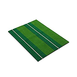 Zfggd Golf Simulation Grass Carpet Practice Blanket Fireproof Rubber Sole, Driving Chipping Pitching Putting (Size : 30 * 60cm)
