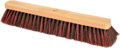 Besen Arenga/Elaston L.500mm Sattelholz natur m.Stielloch