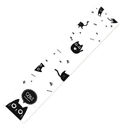 Skateboard Bänder Aufkleber, (Skateboard Grip Band Blatt Blase Freie Scrub Aufkleber abriebfeste Anti-Rutsch, Katze #56)