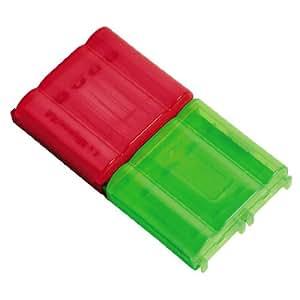 Hama 2 Akkuboxen für je 4 AAA Micro oder 4 AA Mignon