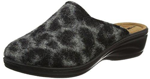 Rohde Damen 4484 Pantoffeln Grau (Anthrazit) 40 EU