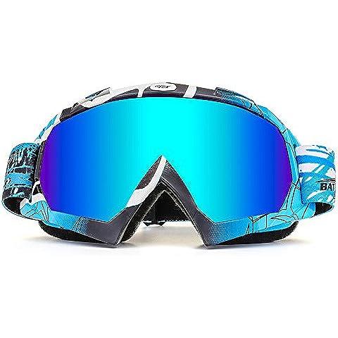 BATFOX Outdoor Riding Gafas de ciclismo Gafas de moto Esquí de esquí Gafas de nieve Gafas de moto CS Goggles