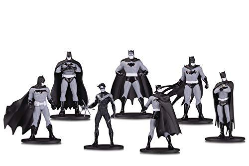 DC Comics Batman Black & White 7-Pack 3.75 inch Mini-Figurines
