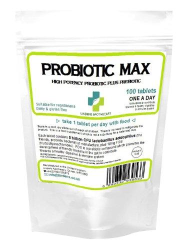 Probiotic Max (+ prebiotischer) Tabletten (100)