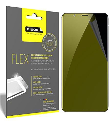 dipos I 3X Schutzfolie 100% passend für Nubia Red Magic Folie (Vollständige Bildschirmabdeckung) Bildschirmschutzfolie
