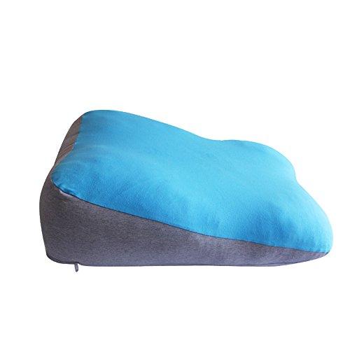 LJHA Oreillers d'allaitement Oreiller Oreiller Oreiller Taille Coussin bébé Bleu Rouge 65 * 48cm Oreillers d'allaitement (Couleur : Rouge)