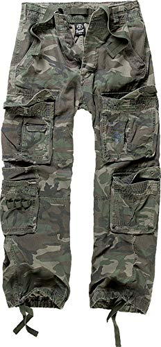 Brandit Cargohose Pure Woodland 7XL (Coole Band Kostüm)