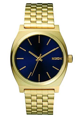 Nixon orologio da uomo analogico al quarzo con cinturino in acciaio inossidabile - a045-1931_gold tone