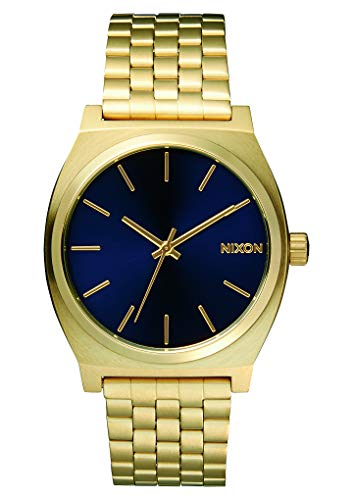 Nixon Herren Analog Quarz Uhr mit Edelstahl Armband A0451931-00