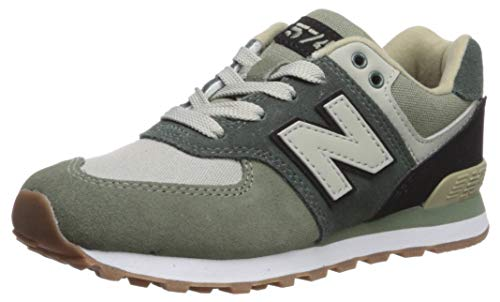 00fa8307bf New Balance 574, Zapatillas Unisex, Verde (Faded Rosin/Black Mld), 38 EU