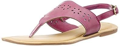 Bata Sandals-Chappal Women's Lazer Pink Slippers - 3 UK/India (36EU) (5615100)