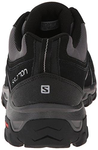 Salomon  Evasion Aero, Chaussures de trekking et randonnée homme Gris - Grau (Black/Autobahn/Pewter)