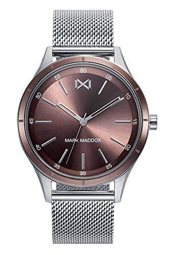 Mark Maddox HM7117-47 Montre à Bracelet pour Homme
