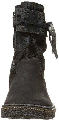 Ramdam Kitami, Bottes Classiques fille Noir (Nuc Noir Dpf/317)
