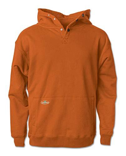 Arborwear Men's Double Thick Pullover Sweatshirt, Burnt Orange, 2X-Large Arborwear Pullover