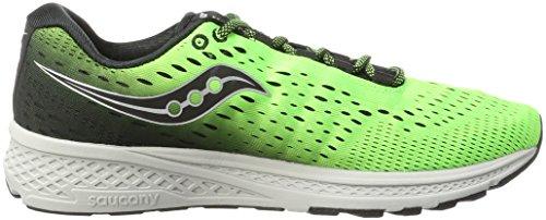 Saucony Breakthru 3, Chaussures de Running Homme Vert (Slime/black)