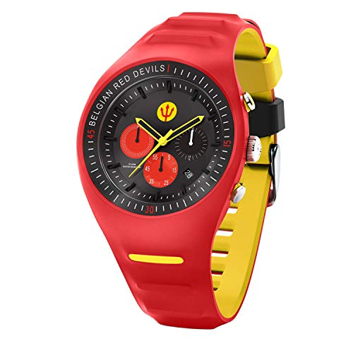 ICE-Watch Orologio Cronógrafo Quarzo Uomo con Cinturino in Silicone 016102