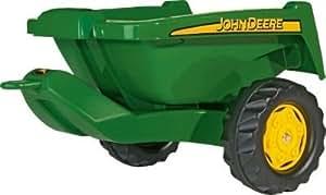 Delightful John Deere Kipper Trailer for Child's Tractor --
