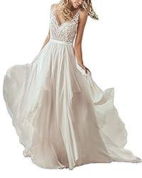 NANGER Hochzeitskleid Rückenfrei