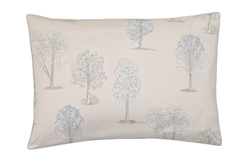 Blanc des Vosges Fuji Taie rectangle Coton Lin 75 x 50 cm