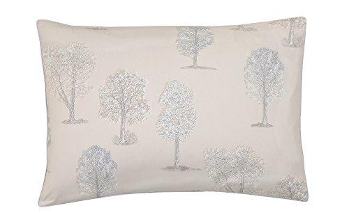 Blanc des Vosges Fuji Taie rectangle Coton Lin 75 x 50 cm