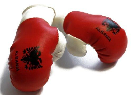 MBG 027 - Mini Boxhandschuhe / Albanien
